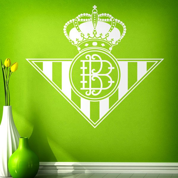 Wall Stickers: Real Betis Balompié badge