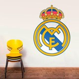 Wall Stickers: Real Madrid Badge color 3