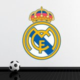 Wall Stickers: Real Madrid Badge color 4