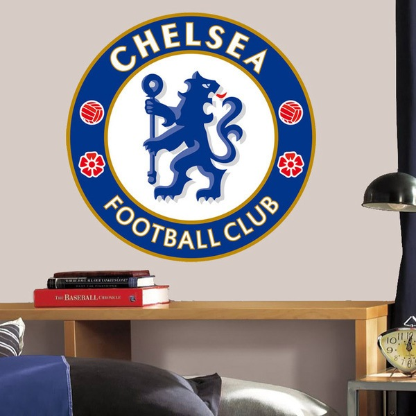 Wall Stickers: Chelsea FC Badge color