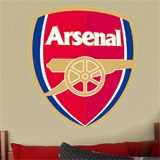 Wall Stickers: FC Arsenal Badge color 4