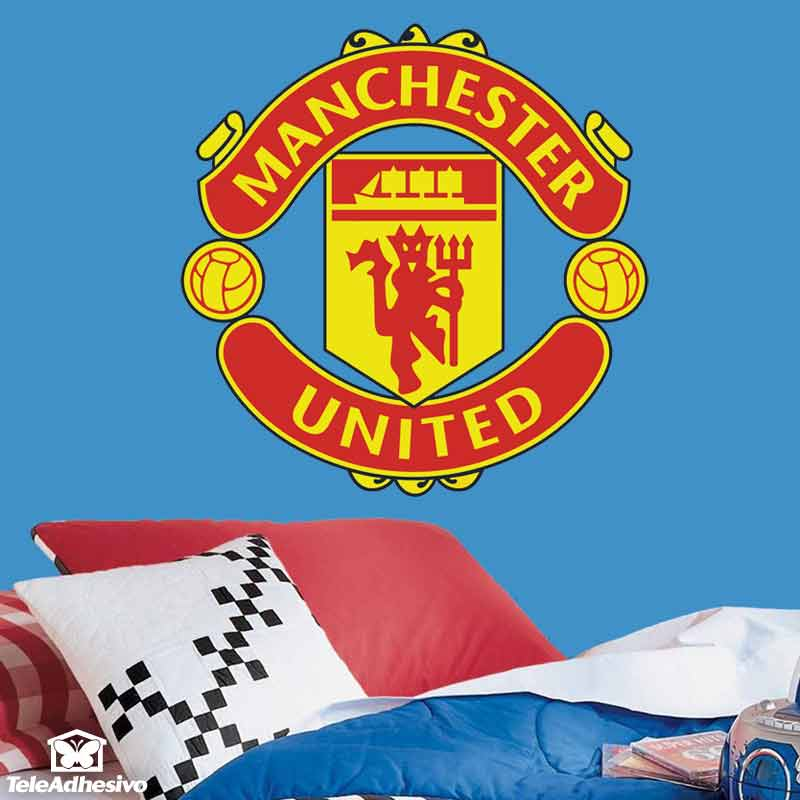 Manchester United Badge Color
