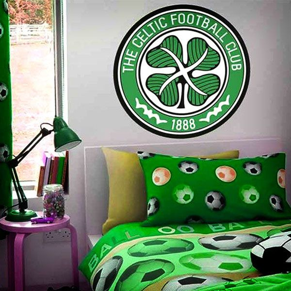 Wall Stickers: Celtic FC Badge color