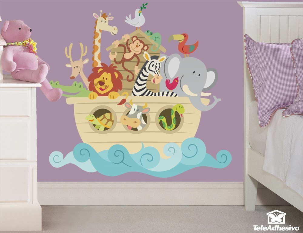 Stickers for Kids: Noah's ark