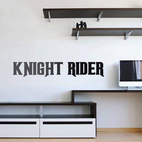 Wall Stickers: Knight Rider