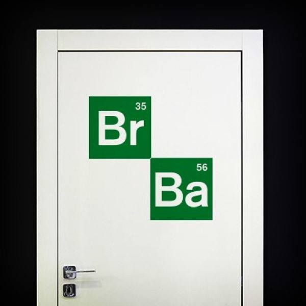 Wall Stickers: Logo Breaking Bad 2