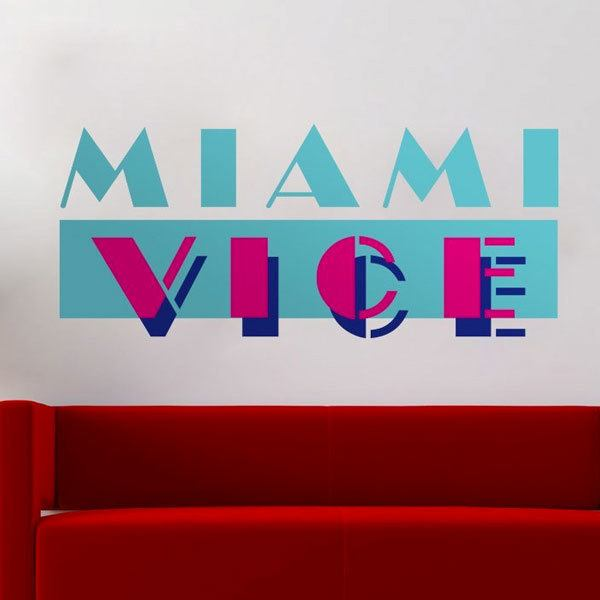 Wall Stickers: Miami Vice