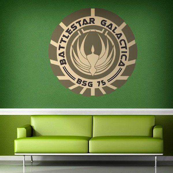 Wall Stickers: Battlestar Galactica