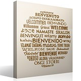 Wall Stickers: Welcome to Languages 2
