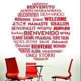 Wall Stickers: Welcome to Languages 3