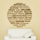Wall Stickers: Welcome to Languages 5