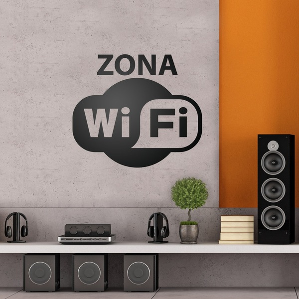 Wall Stickers: Zona Wifi
