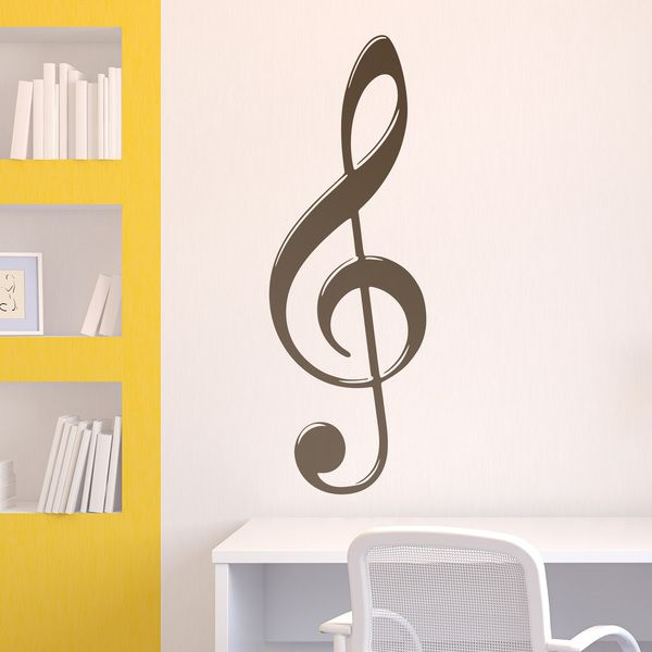 Wall Stickers: Treble Clef