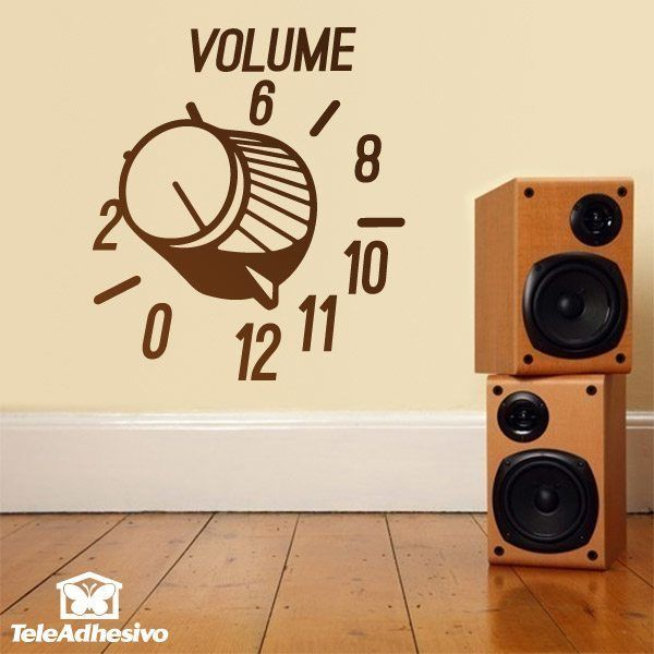 Wall Stickers: Pump up the volume