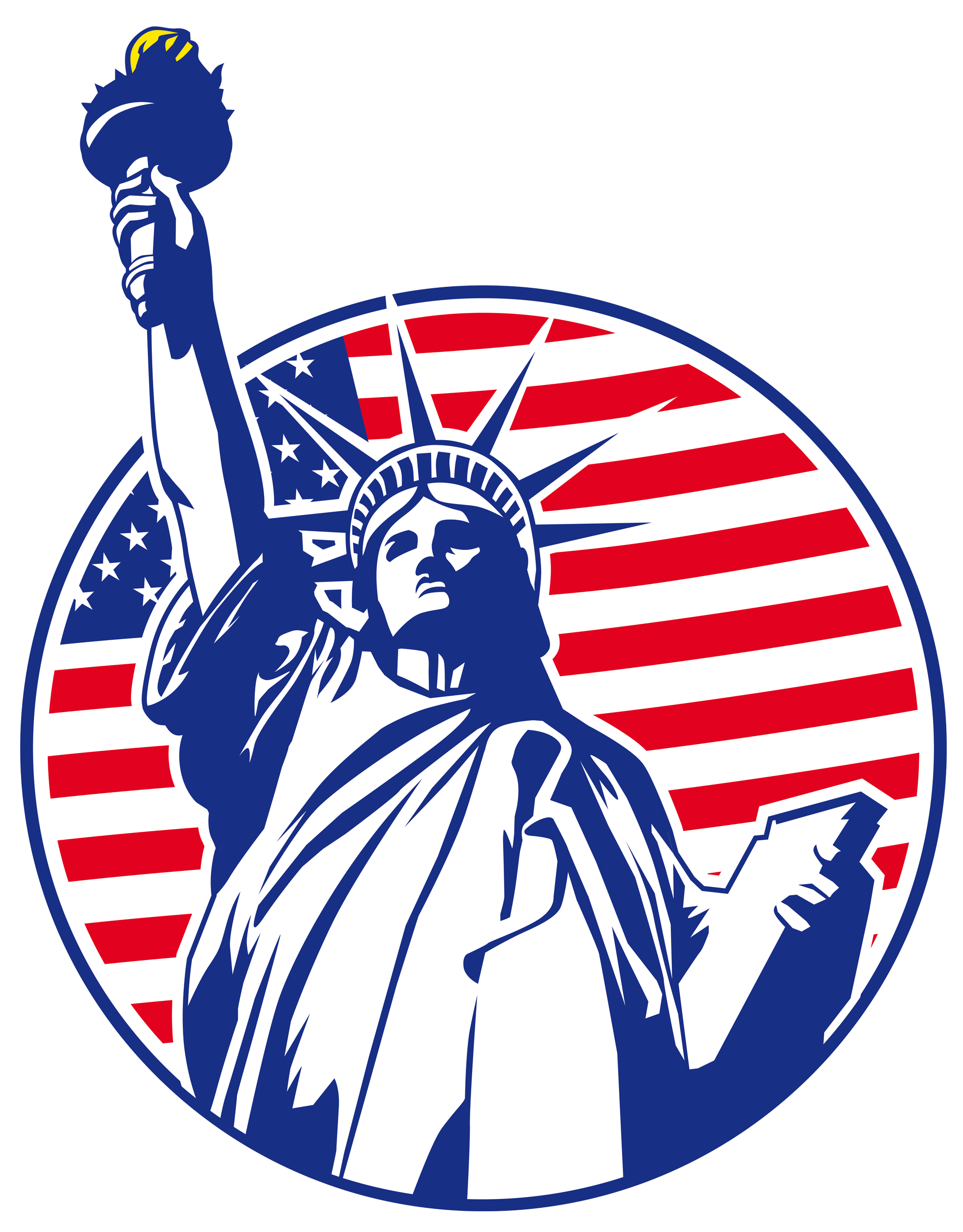 Buy Online Wall Stickers Statue Of Liberty