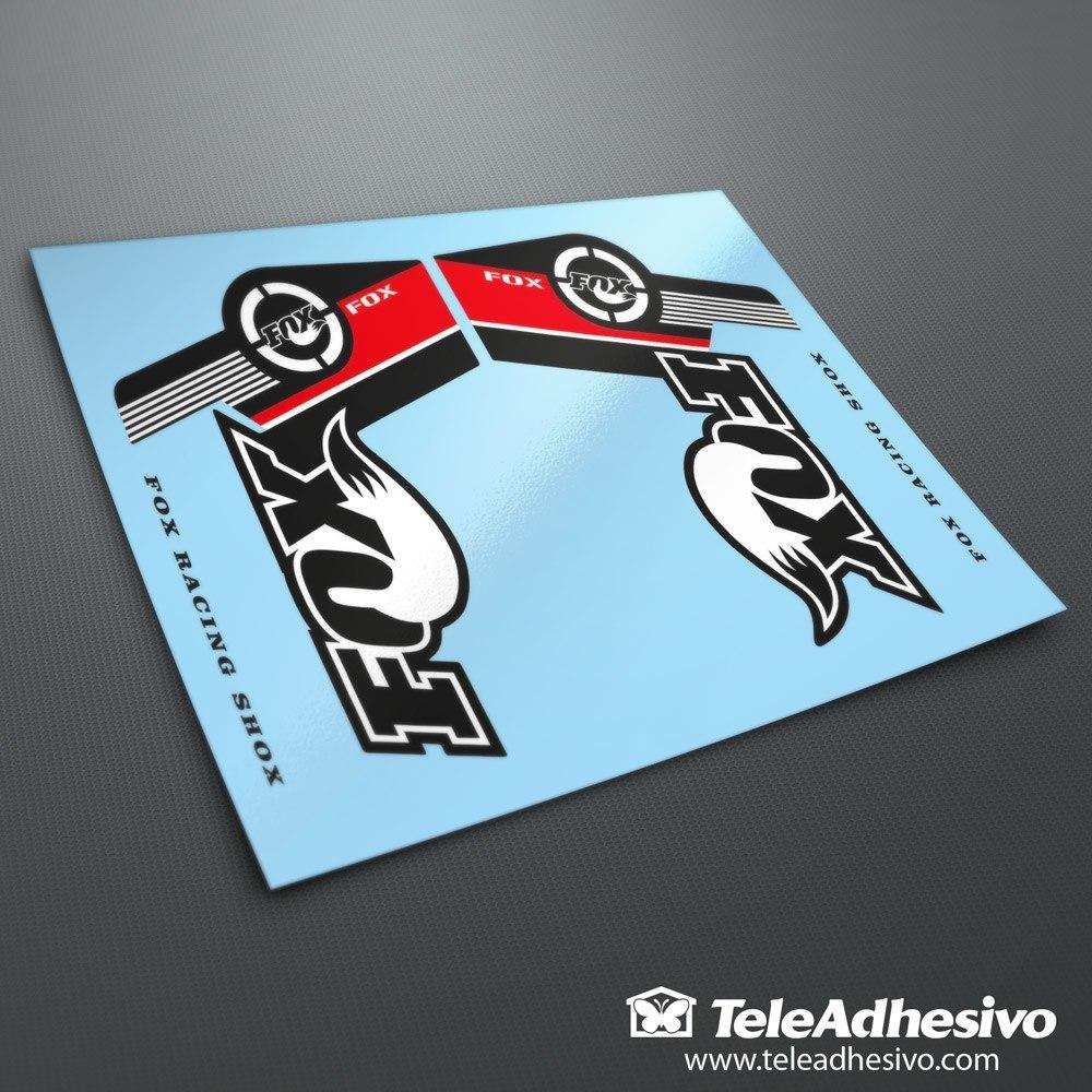 Sticker design for mountain bike - Car And Motorbike Stickers Stickers Fox Racing Shox Forks Mountain Bike