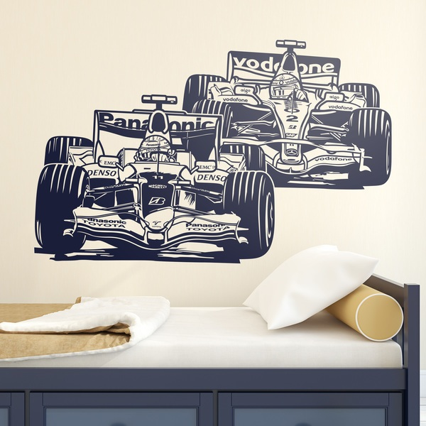 Wall Stickers: Formula 1 Grand Prix