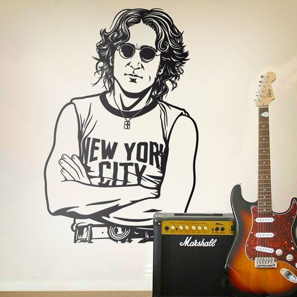 Wall Stickers: John Lennon - New York City