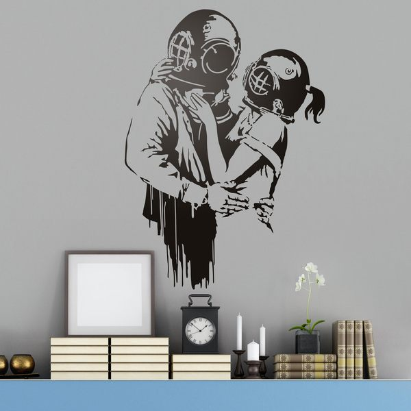 Wall Stickers: Think Tank by Banksy 0