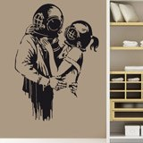 Wall Stickers: Think Tank by Banksy 2