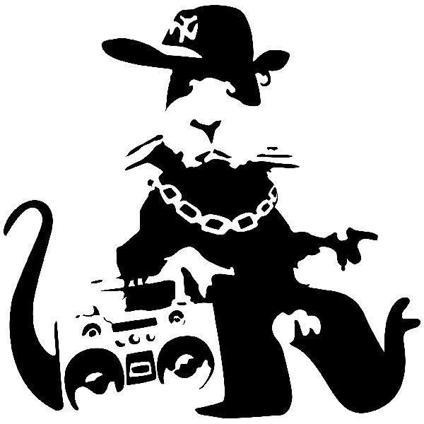 Banksy Nyc Gangster Rat