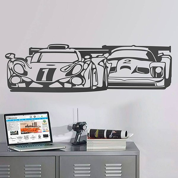 Wall Stickers: 24 Hours of Lemans 0