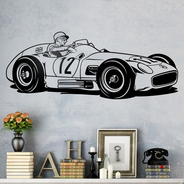 Wall Stickers: Mercedes-Benz W196
