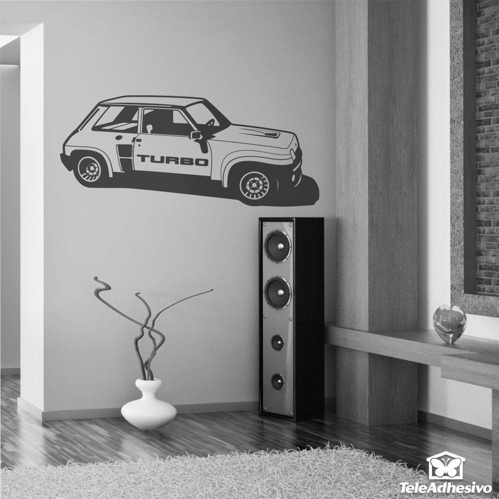 Wall Stickers: Renault 5 Turbo Cup