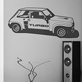 Wall Stickers: Renault 5 Turbo Cup 2