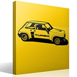 Wall Stickers: Renault 5 Turbo Cup 3