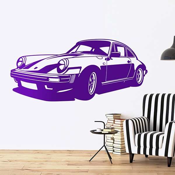 Wall Stickers: Porsche 911 Classic