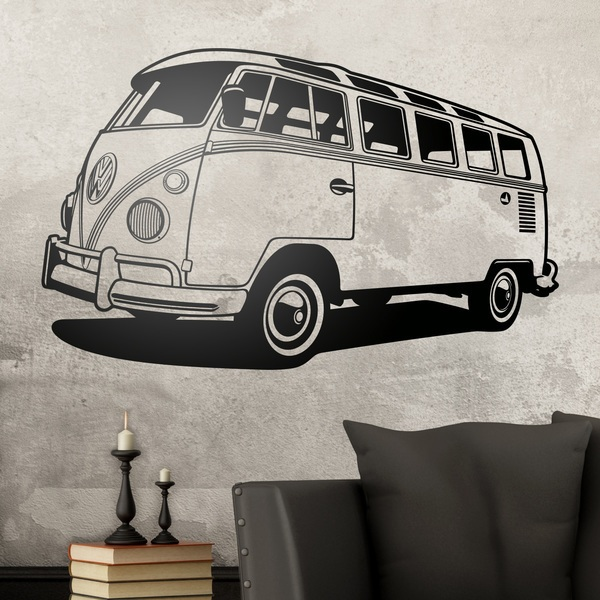 Wall Stickers: Volkswagen van California