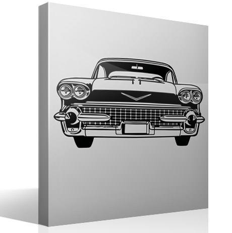 Wall Stickers: Cadillac frontal