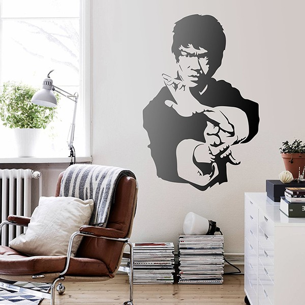 Wall Stickers: Master Bruce Lee