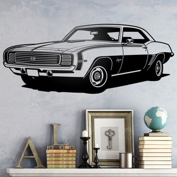 Wall Stickers: Chevrolet Camaro 1969 ss