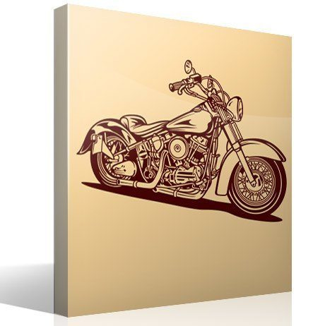Wall Stickers: Harley Davidson Softail Classic Part 64