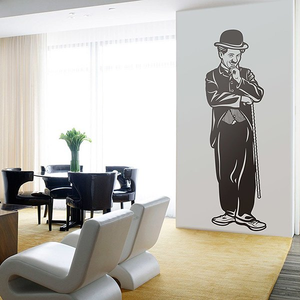 Wall Stickers: Charles Chaplin