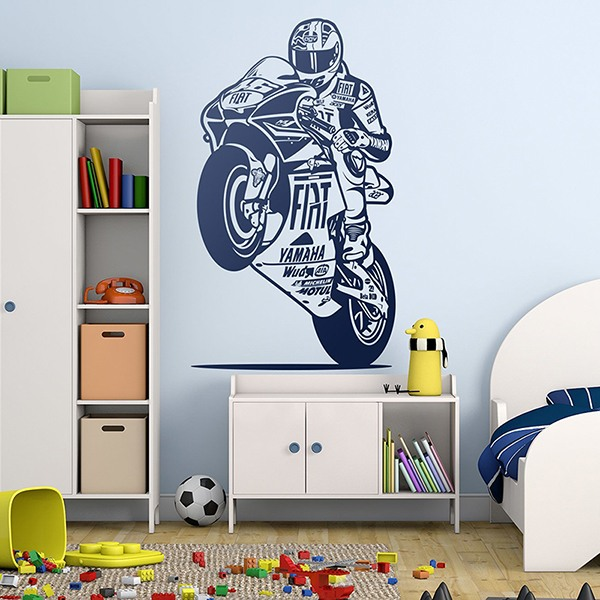 Wall Stickers: Dorsal MotoGP 46