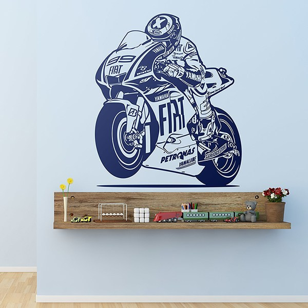 Wall Stickers: Dorsal MotoGP 99