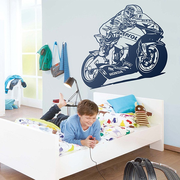 Wall Stickers: MotoGP Repsol