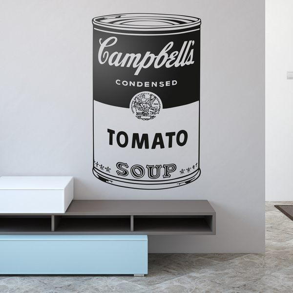 Wall Stickers: Andy Warhol Campbell's Soup Cans