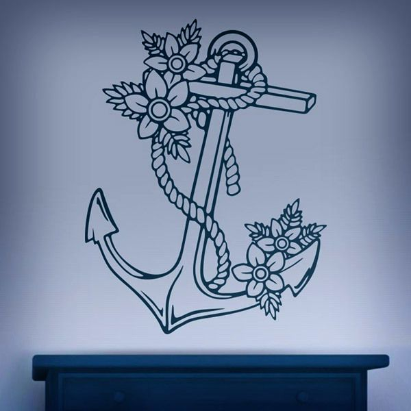 Wall Stickers: Marine Anchor