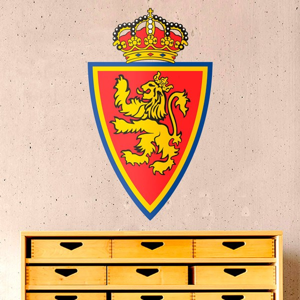 Wall Stickers: Real Zaragoza Badge