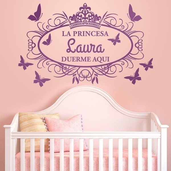 Stickers for Kids: Princess sleeps here