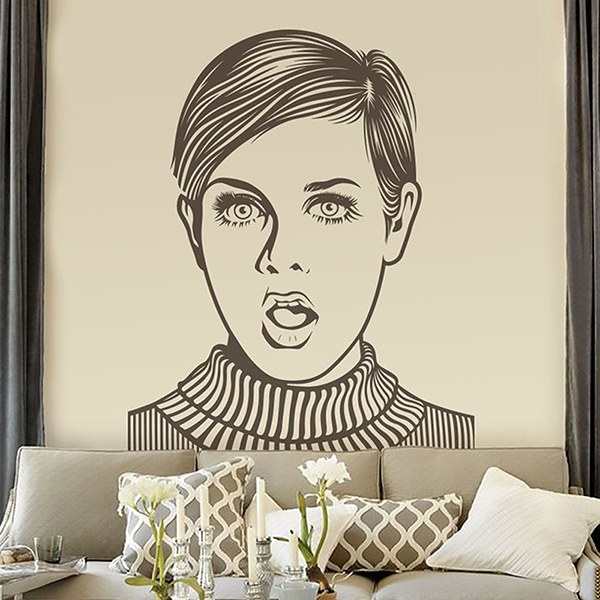 Wall Stickers: Twiggy