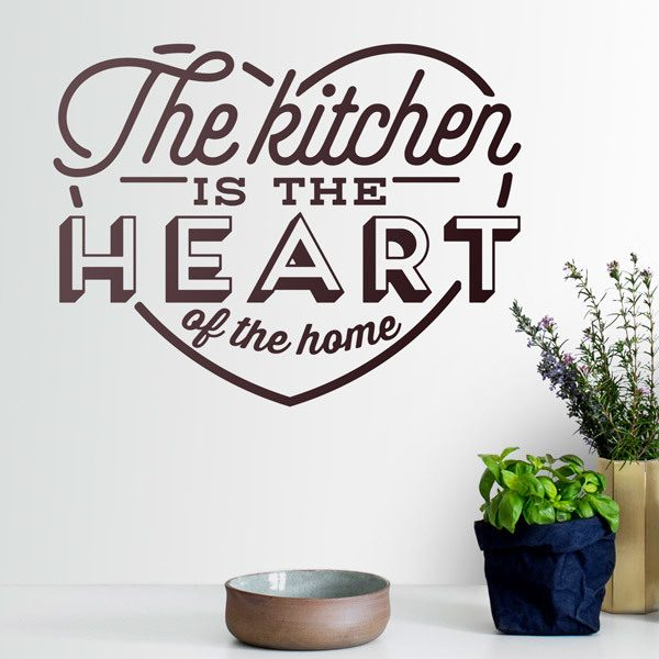Wall Stickers: The Kitchen is the Heart of the Home