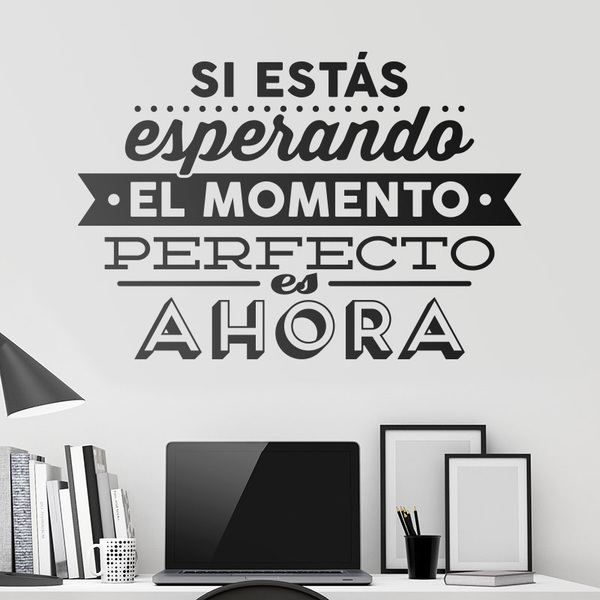 Wall Stickers: El momento perfecto
