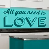 Wall Stickers: All you need is love 2