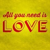 Wall Stickers: All you need is love 3