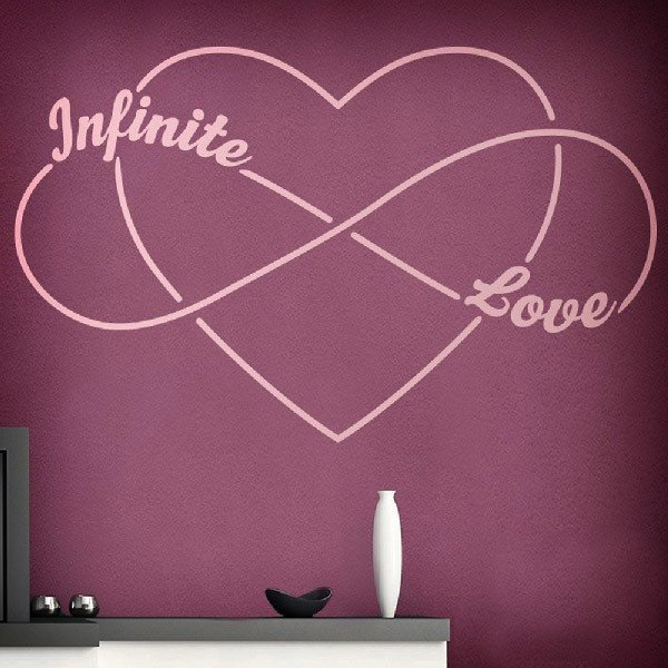 Wall Stickers: Infinite Love